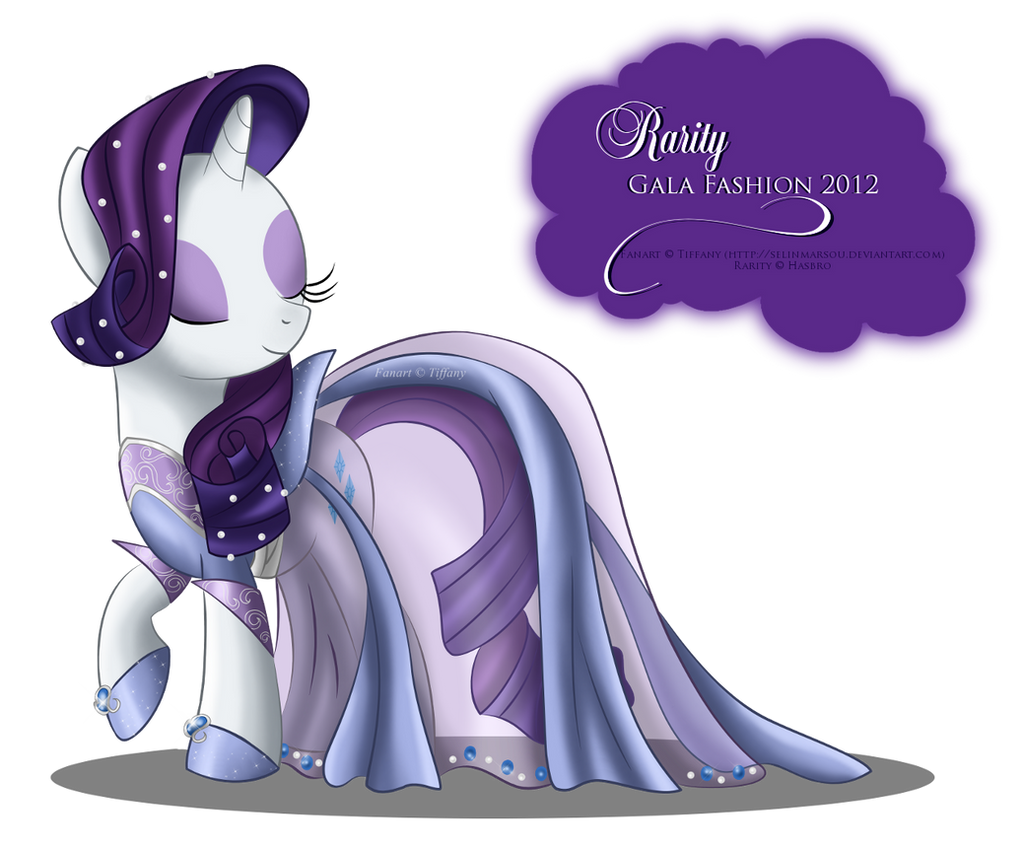 Gala Fashion 2012 - Rarity by selinmarsou