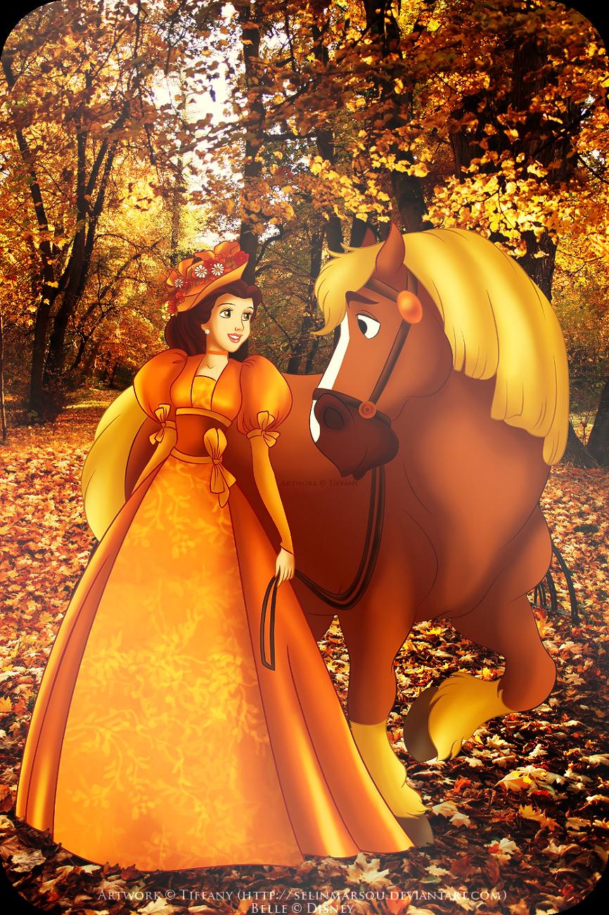Autumn Stroll by selinmarsou