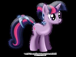 Crystal Pony - Twilight by tiffanymarsou