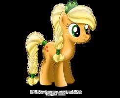 Crystal Pony - Applejack by tiffanymarsou