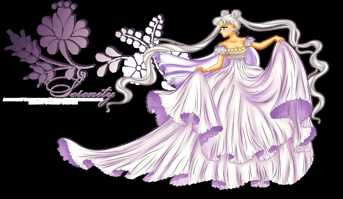 Princess Serenity by selinmarsou