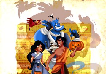 Aladdin - Trick or treat by tiffanymarsou