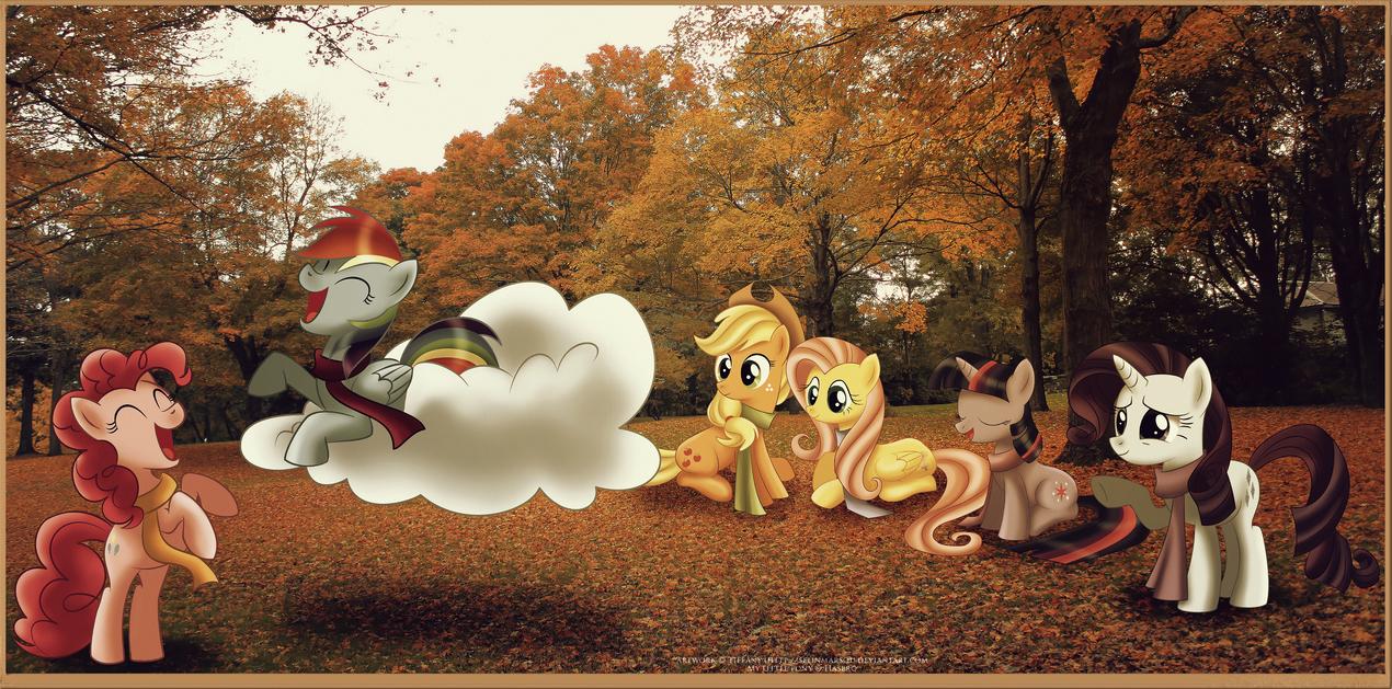 Fall weather friends by selinmarsou
