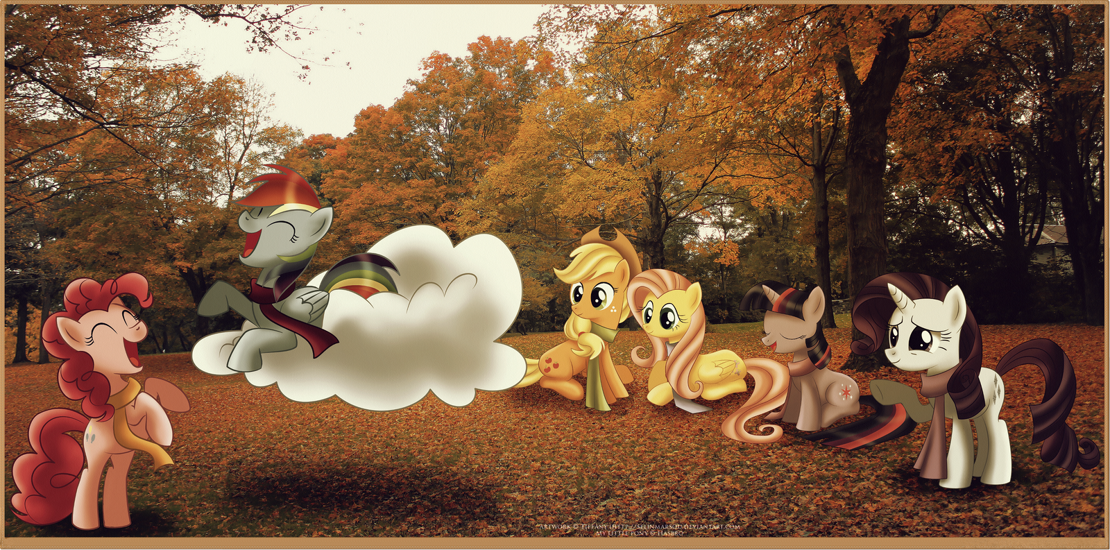 Fall weather friends by selinmarsou