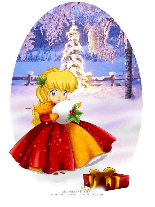 Chibi Selin - Christmas ID by selinmarsou