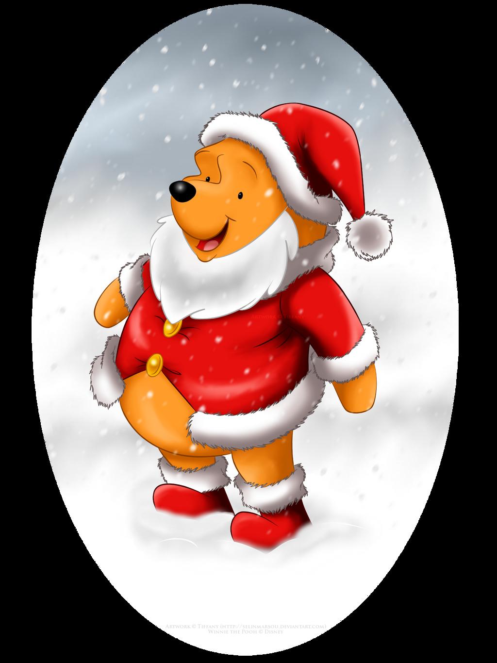 Winnie the Santa by selinmarsou