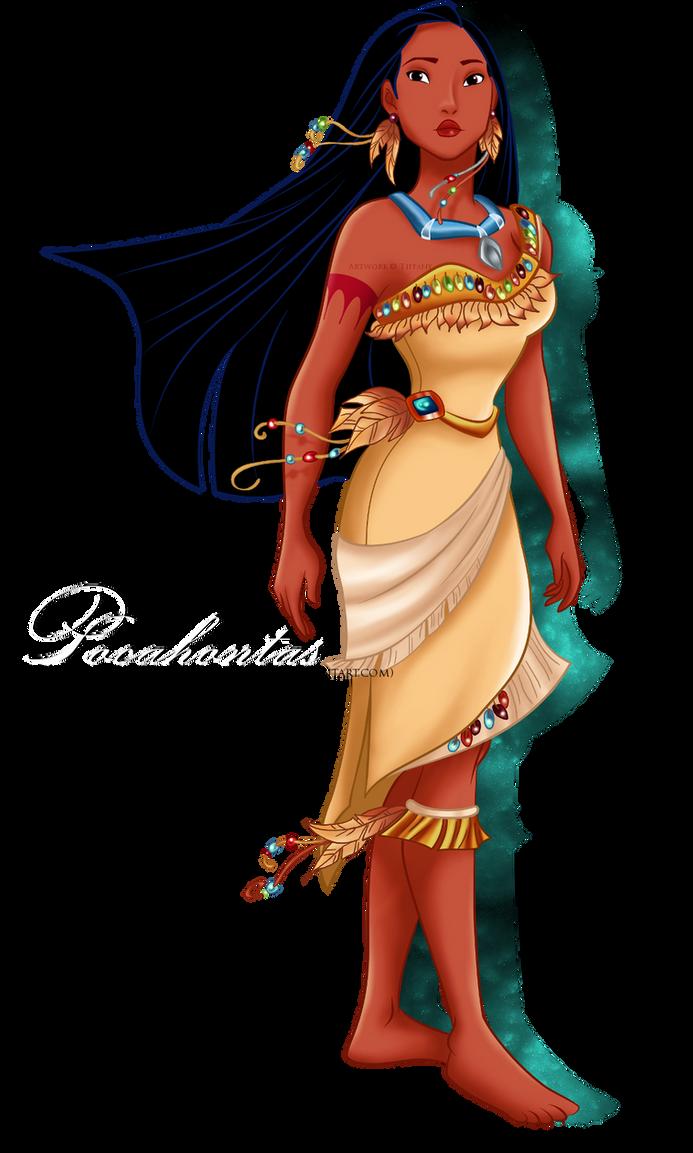 Made of Pocahontas That i