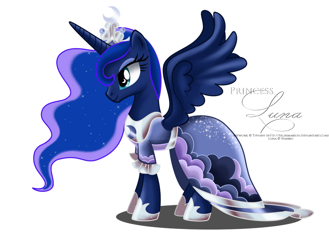 Luna - coronation dress by selinmarsou