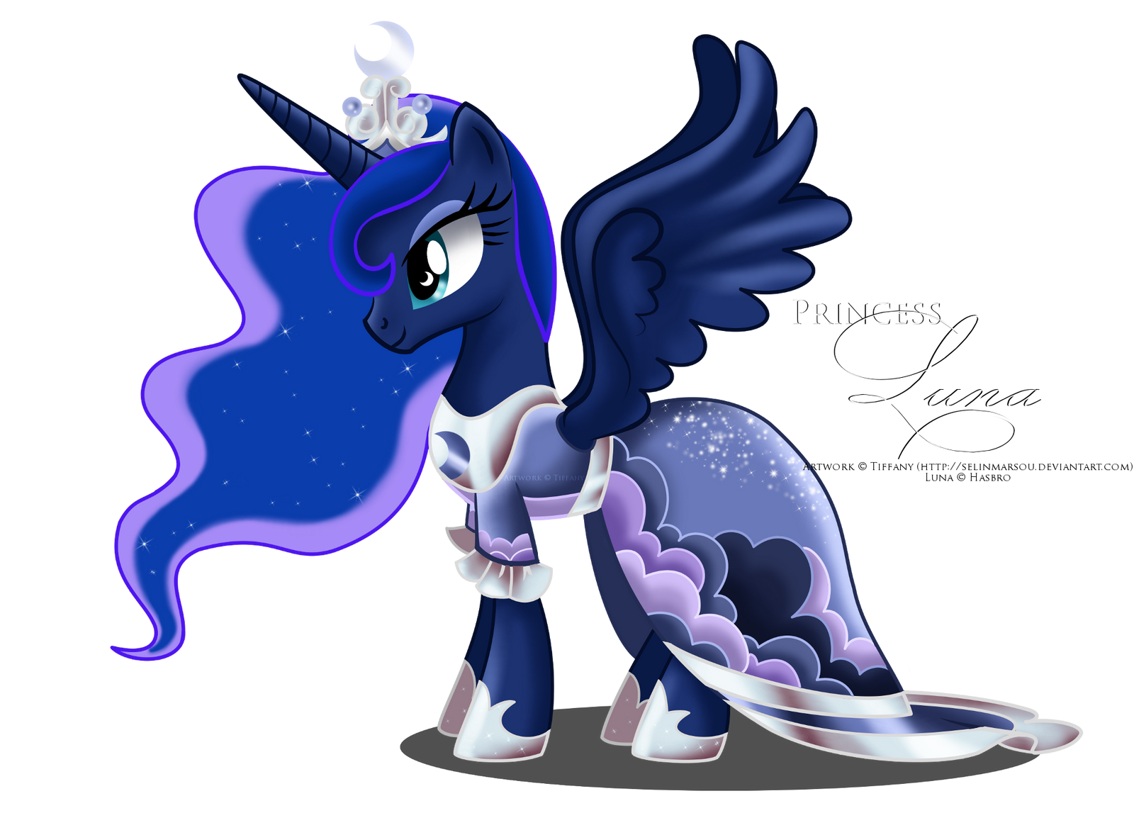 Luna - coronation dress by selinmarsou