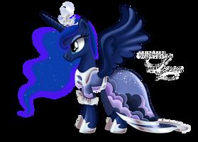 Luna - coronation dress by tiffanymarsou