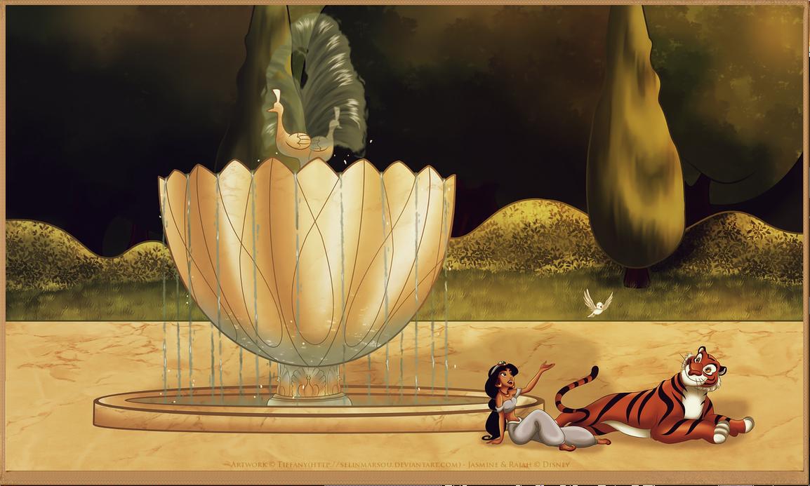 a Royal garden by selinmarsou