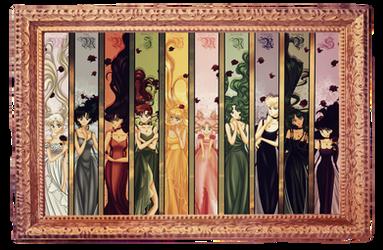 Princesses by tiffanymarsou
