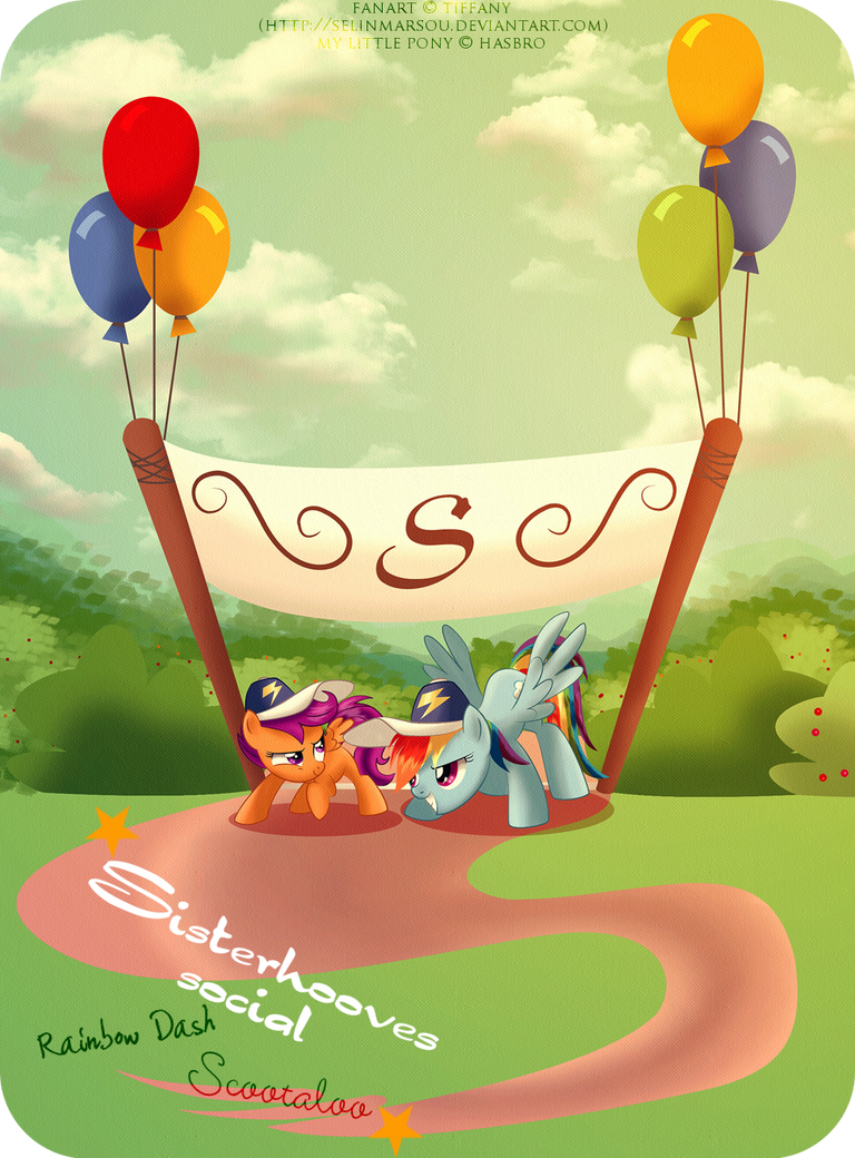 Sisterhooves social - Team Dash by selinmarsou