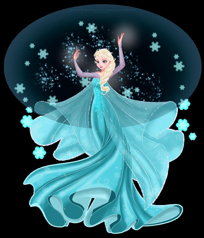 Elsa by selinmarsou