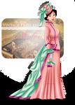 Vintage Princess - Mulan