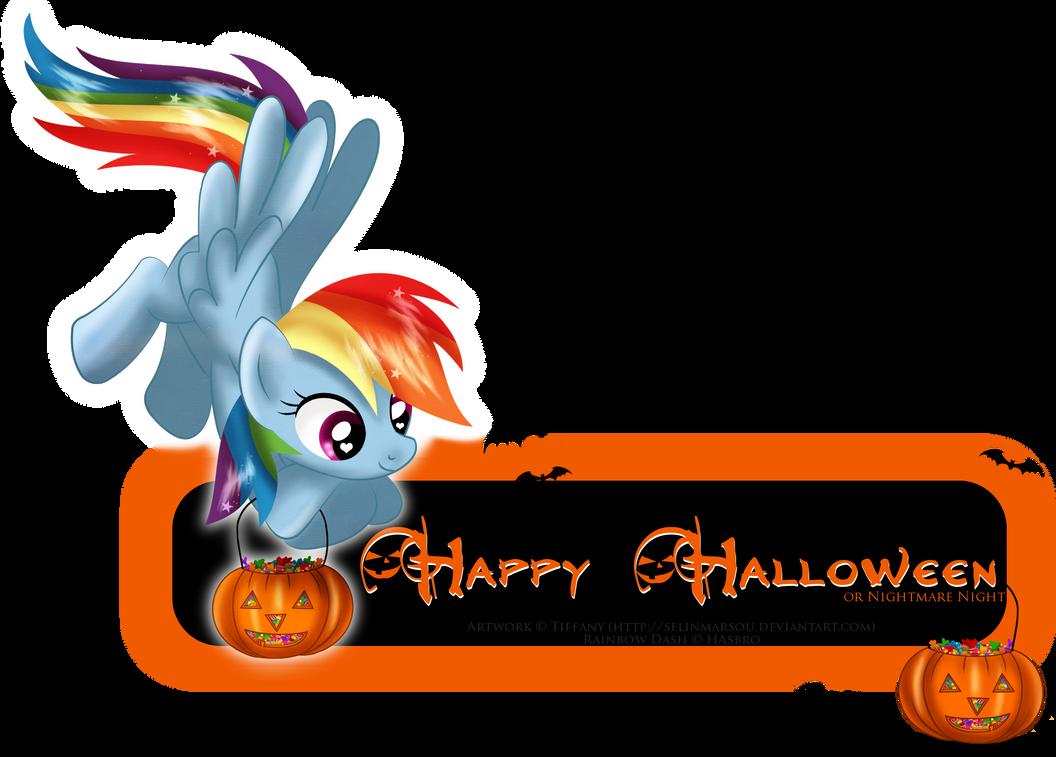 Halloween Rainbow card by selinmarsou