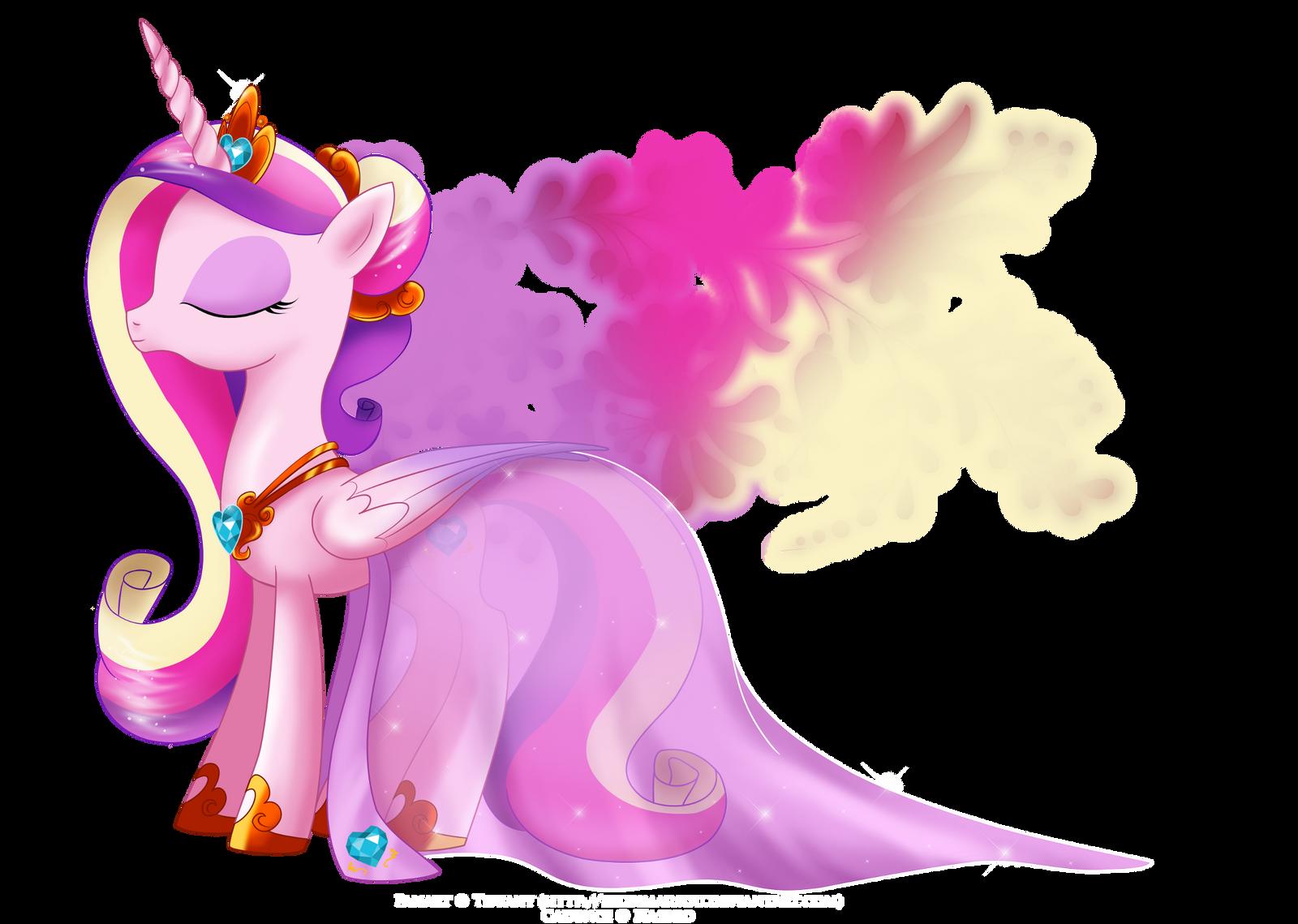 Princess of Equestria - Mi Amore Cadenza by selinmarsou