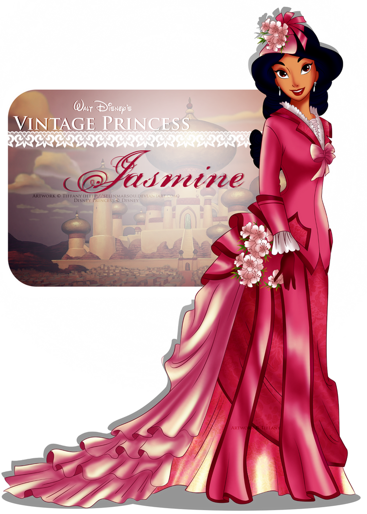 Vintage Princess Jasmine Selinmarsou Deviantart