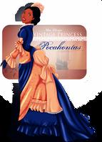 Vintage Princess -Pocahontas by tiffanymarsou