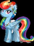 May Festival Pony - Rainbow Dash