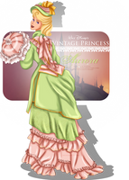 Vintage Princess  Aurora by tiffanymarsou