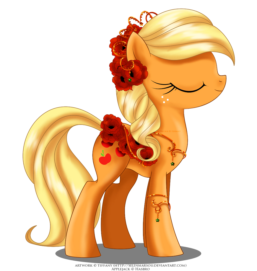 may_festival_pony___applejack_by_selinma