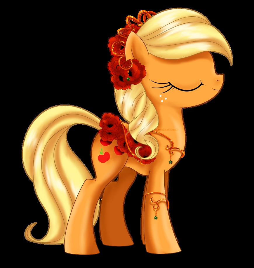 may_festival_pony___applejack_by_selinma