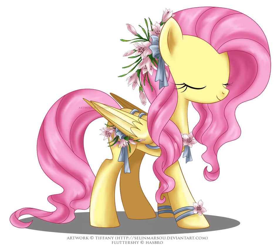 May Festival Pony - Fluttershy by selinmarsou