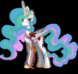 May Festival Pony - Celestia by tiffanymarsou