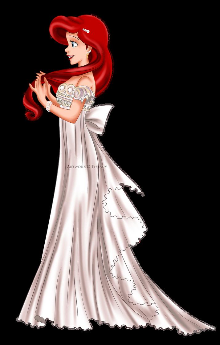 Pretty mermaid wedding dresses