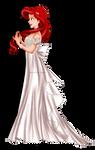 Close-up - Ariel as Princess Serenity by tiffanymarsou