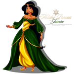 Holiday Princess Doll - Jasmine