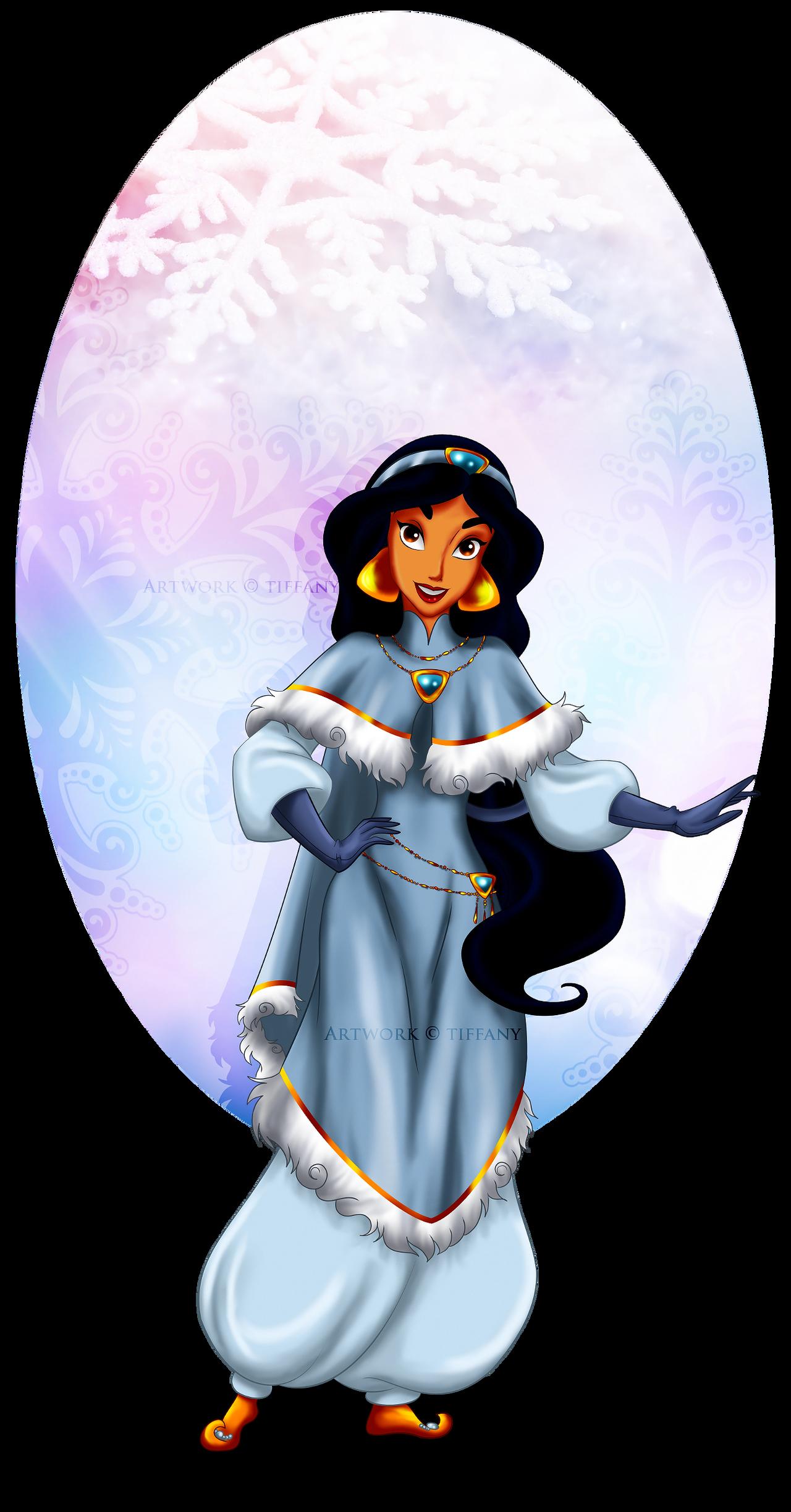 Winter Princess - Jasmine by selinmarsou on DeviantArt