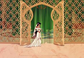 Screencap re-draw- Wedding Day by tiffanymarsou