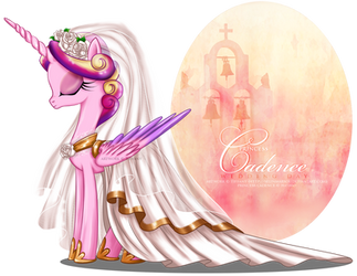 Princess Cadence - Wedding Day by tiffanymarsou