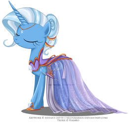 Commission - Gala Gown for Trixie by tiffanymarsou