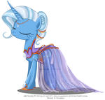 Commission - Gala Gown for Trixie