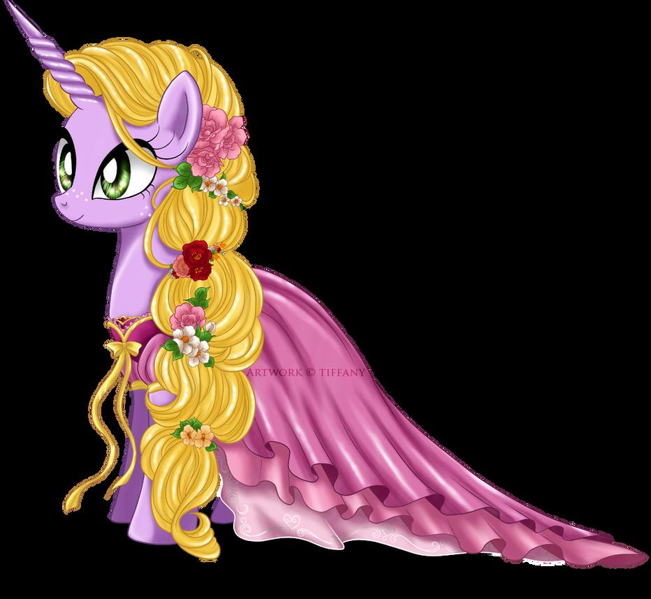 My little princess rapunzel by selinmarsou on deviantart - Princesse poney ...