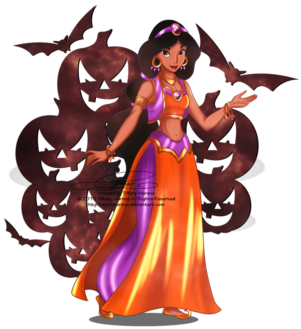 Jasmine halloween outfit by selinmarsou on deviantart - Disney halloween images ...