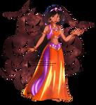 Jasmine - Halloween outfit