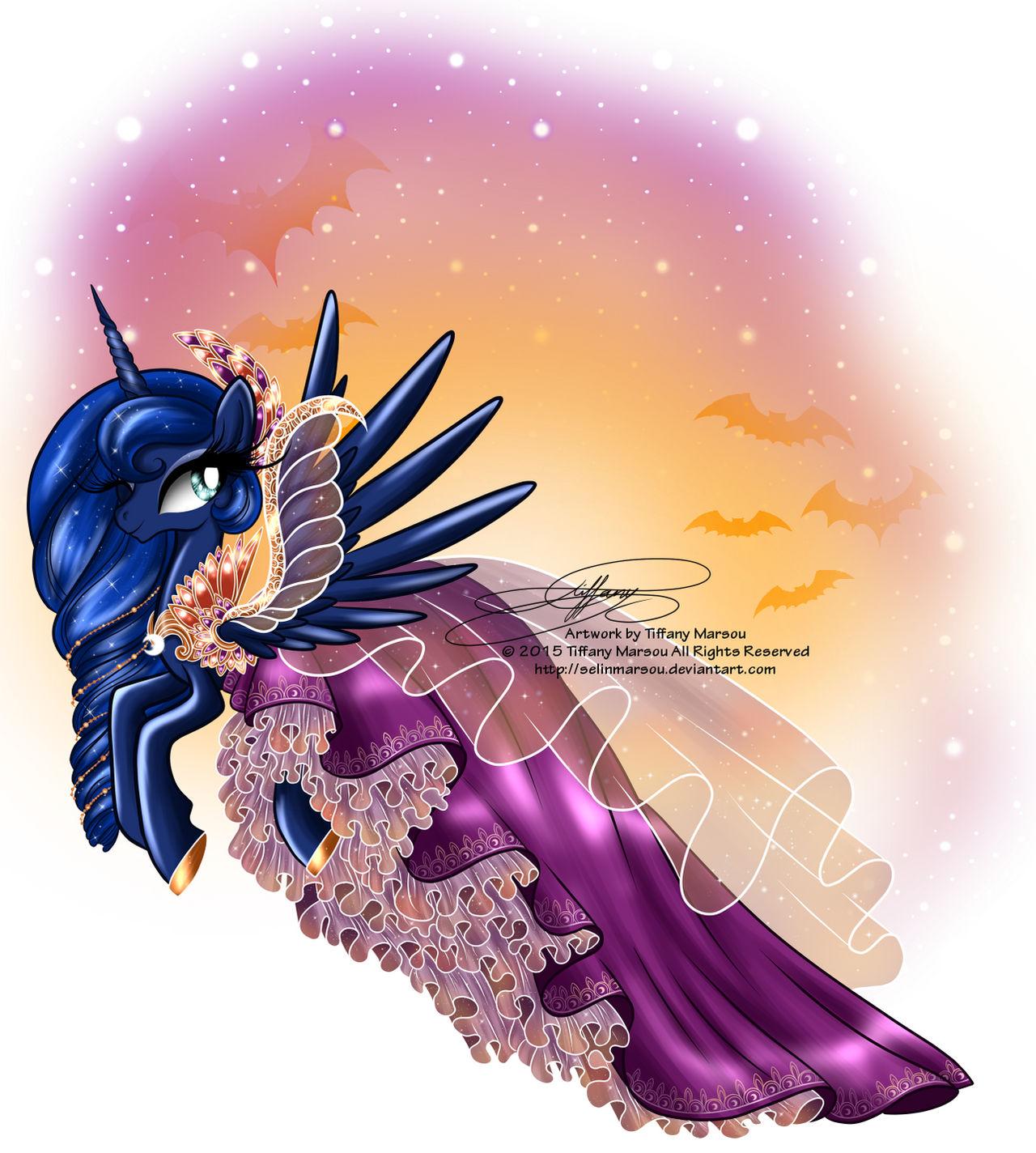 Princess Luna - Special Halloween Dress