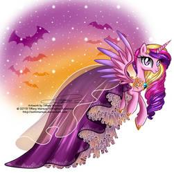 Princess Cadence - Special Halloween Dress by tiffanymarsou
