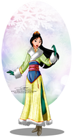 Winter Princess - Mulan