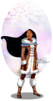 Winter Princess - Pocahontas by tiffanymarsou