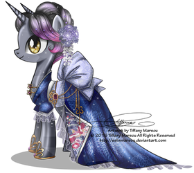 Commission - Gala Gown for Nightshade by tiffanymarsou