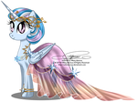 Commission - Gala Gown for Winter Dawn