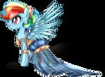 Gala Fashion 2016 - Rainbow Dash