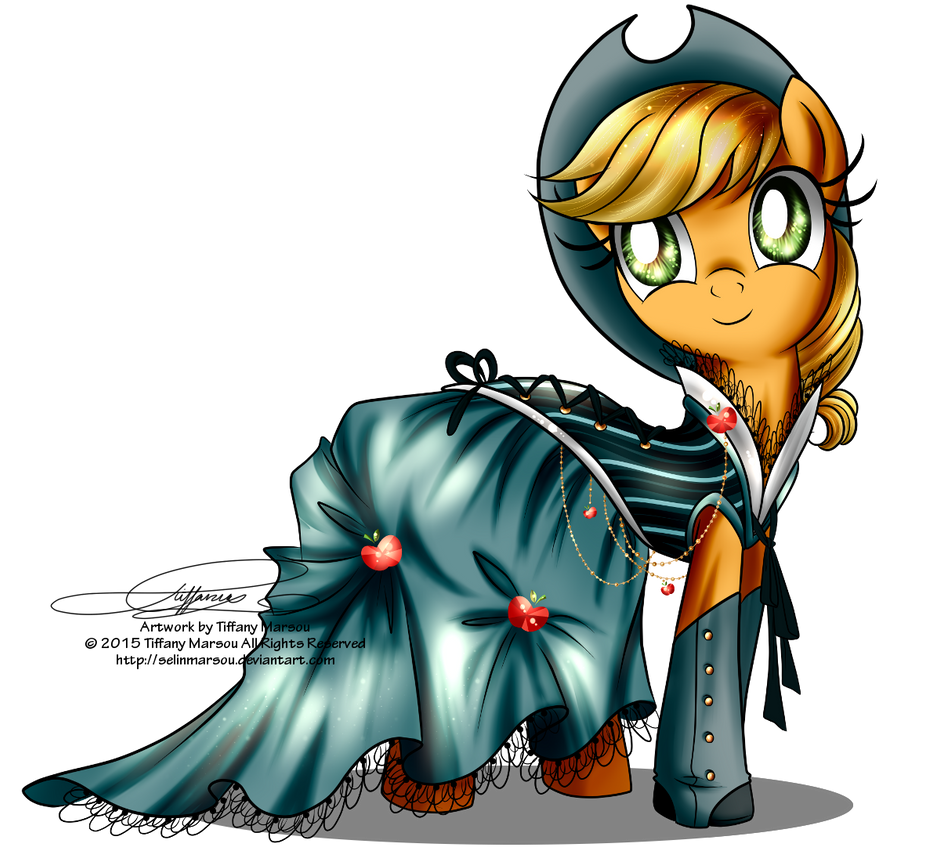 gala fashion 2016 applejack by selinmarsou on deviantart