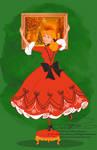 Xmas Postcard - Cinderella