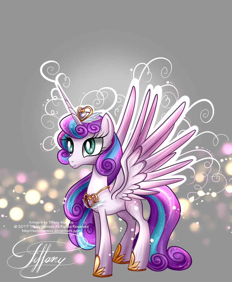 Flurry Heart by selinmarsou